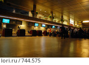 Купить «Зал рижского аэропорта», фото № 744575, снято 19 июля 2008 г. (c) Андрей Лабутин / Фотобанк Лори
