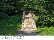 Берёзовый мостик. Музей-усадьба Л.Н.Толстого (2008 год). Редакционное фото, фотограф Зябрикова Надежда / Фотобанк Лори