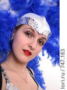 Купить «Портрет танцовщицы», фото № 747183, снято 22 февраля 2009 г. (c) Юрий Викулин / Фотобанк Лори