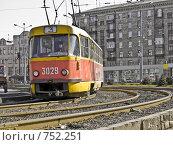 Трамвай (2009 год). Редакционное фото, фотограф Гортованова Мария / Фотобанк Лори