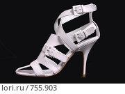 Купить «Белые женские туфли на каблуке», фото № 755903, снято 10 мая 2007 г. (c) Илья Лиманов / Фотобанк Лори