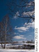 Зимний пейзаж, фото № 757515, снято 14 марта 2009 г. (c) Юрий Бельмесов / Фотобанк Лори