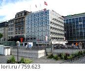 Купить «Женева. Швейцария. Банковский и финансовый центр города.», фото № 759623, снято 25 июля 2008 г. (c) Светлана Кудрина / Фотобанк Лори