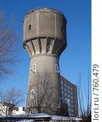 Купить «Водонапорная башня», фото № 760479, снято 3 февраля 2009 г. (c) Коротнев Виктор Георгиевич / Фотобанк Лори