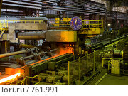 Сортопрокатный цех (2008 год). Редакционное фото, фотограф Андрей Константинов / Фотобанк Лори