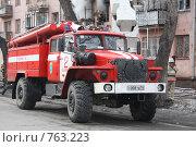 Купить «Специальная техника на боевой работе», фото № 763223, снято 16 марта 2009 г. (c) Андрей Соловьев / Фотобанк Лори