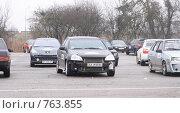 Купить «Стоянка спортивных автомобилей», фото № 763855, снято 25 февраля 2009 г. (c) Никончук Алексей / Фотобанк Лори