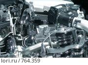 Купить «Силовой агрегат», фото № 764359, снято 15 августа 2018 г. (c) Евгений Шелковников / Фотобанк Лори