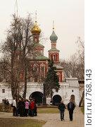 Купить «Москва. Новодевичий монастырь», фото № 768143, снято 5 апреля 2008 г. (c) Julia Nelson / Фотобанк Лори