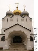Купить «Новодевичий монастырь», фото № 768147, снято 5 апреля 2008 г. (c) Julia Nelson / Фотобанк Лори