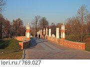 Купить «Мост в Царицыно», эксклюзивное фото № 769027, снято 13 ноября 2008 г. (c) lana1501 / Фотобанк Лори