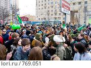 Купить «Парад в честь дня Св. Патрика», фото № 769051, снято 21 марта 2009 г. (c) Медведева Мила / Фотобанк Лори