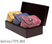 Купить «Коробочки с чаем», фото № 771303, снято 5 марта 2009 г. (c) Руслан Кудрин / Фотобанк Лори