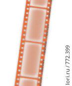 Купить «Фотопленка на белом фоне», иллюстрация № 772399 (c) Фролов Андрей / Фотобанк Лори