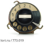 Купить «Старый сломанный номеронабиратель», фото № 773019, снято 22 марта 2009 г. (c) Валерий Александрович / Фотобанк Лори