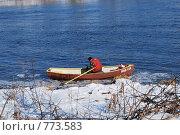 Открытие рыболовного сезона (2009 год). Редакционное фото, фотограф Татьяна Vikkerkaar / Фотобанк Лори