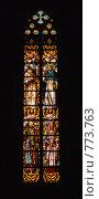 Купить «Витраж (Santa Maria del Mar)», фото № 773763, снято 11 марта 2009 г. (c) Брыков Дмитрий / Фотобанк Лори