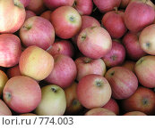 Купить «Ароматные яблоки», фото № 774003, снято 27 июля 2004 г. (c) Юлия Костенецкая / Фотобанк Лори