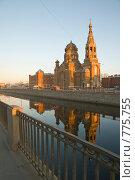 Купить «Церковь. Обводный канал. Санкт-Петербург», эксклюзивное фото № 775755, снято 27 марта 2009 г. (c) Александр Алексеев / Фотобанк Лори