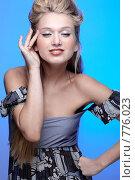 Красивая блондинка. Стоковое фото, фотограф Serg Zastavkin / Фотобанк Лори
