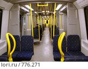 Вагон метро, Стокгольм (2009 год). Стоковое фото, фотограф Наталья Вахменина / Фотобанк Лори