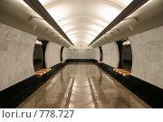 Купить «Станция «Международная» московского метрополитена», фото № 778727, снято 14 февраля 2020 г. (c) Losevsky Pavel / Фотобанк Лори