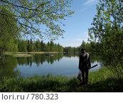 Гатчинский парк. Белое озеро. Стоковое фото, фотограф St.Tatyana / Фотобанк Лори