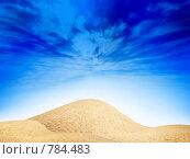 Купить «Абстрактная пустыня», фото № 784483, снято 17 июля 2019 г. (c) Андрей Бурдюков / Фотобанк Лори