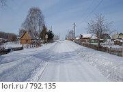 Дачный проспект. Стоковое фото, фотограф Антон Тимохин / Фотобанк Лори