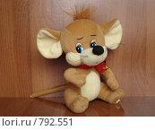 Мышка - мягкая игрушка. Стоковое фото, фотограф Егоров Алексей / Фотобанк Лори