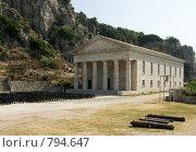 Церковь Святого Георгия. Греция, о.Корфу (2008 год). Стоковое фото, фотограф Олег Гусев / Фотобанк Лори