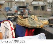Купить «Обувь», фото № 798535, снято 12 апреля 2008 г. (c) Зуев Андрей / Фотобанк Лори