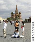 Купить «Москва, Красная площадь», эксклюзивное фото № 799903, снято 18 февраля 2019 г. (c) Дмитрий Неумоин / Фотобанк Лори