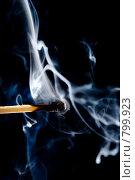 Купить «Дым от погасшей спички», фото № 799923, снято 20 августа 2018 г. (c) Александр Fanfo / Фотобанк Лори