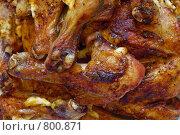 Жареные куриные ножки 2. Стоковое фото, фотограф Артур Якуцевич / Фотобанк Лори