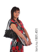 Купить «Девушка с ноутбуком», фото № 801451, снято 7 июня 2007 г. (c) Харитонова Ольга / Фотобанк Лори