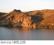 Купить «Закат на водохранилище», фото № 805235, снято 26 июля 2008 г. (c) Зуев Андрей / Фотобанк Лори
