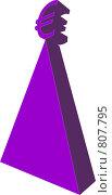 Купить «Евро на вершине пирамиды», иллюстрация № 807795 (c) Дубинин Дмитрий / Фотобанк Лори