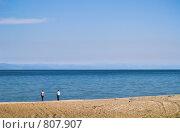 """Купить «Байкал. Вид на пролив """"Малое море""""», фото № 807907, снято 3 сентября 2007 г. (c) Andrey M / Фотобанк Лори"""