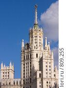Купить «Котельническая высотка», фото № 809255, снято 4 апреля 2009 г. (c) Ольга Полякова / Фотобанк Лори