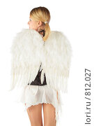 Купить «Девушка с крыльями ангела», фото № 812027, снято 29 января 2020 г. (c) Losevsky Pavel / Фотобанк Лори