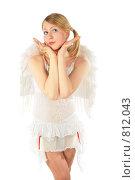Купить «Девушка в костюме ангела», фото № 812043, снято 29 января 2020 г. (c) Losevsky Pavel / Фотобанк Лори