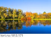 Осень в парке. Стоковое фото, фотограф Павел Власов / Фотобанк Лори