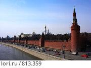 Купить «Московский Кремль», фото № 813359, снято 11 апреля 2009 г. (c) Алексей Байдин / Фотобанк Лори