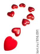 Купить «Сердечки», фото № 816091, снято 17 апреля 2009 г. (c) Руслан Керимов / Фотобанк Лори