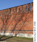 Купить «Вид крепостную стену, г. Смоленск», фото № 817159, снято 9 апреля 2009 г. (c) Denis Kh. / Фотобанк Лори