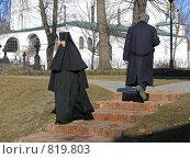 Купить «Монахиня», эксклюзивное фото № 819803, снято 9 апреля 2009 г. (c) lana1501 / Фотобанк Лори