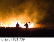Купить «Пожар», фото № 821739, снято 18 апреля 2009 г. (c) Andrey M / Фотобанк Лори