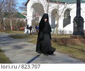 Купить «Монахиня», эксклюзивное фото № 823707, снято 9 апреля 2009 г. (c) lana1501 / Фотобанк Лори