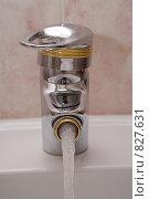 Купить «Хромированный смеситель биде», фото № 827631, снято 10 марта 2008 г. (c) Алексей Кузнецов / Фотобанк Лори